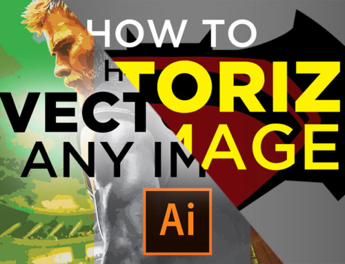 How to Vectorize an Image in Illustrator