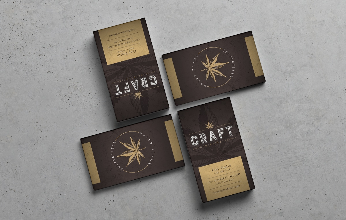 Craft Concentrates Business Cards